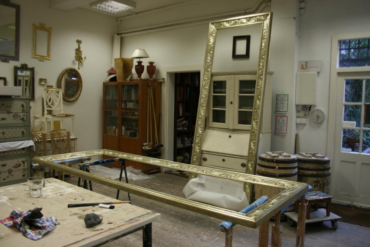 Bilderrahmen vergolden   Restaurierungswerkstatt Hamburg, Andrea ...