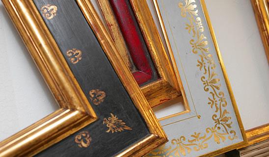rahmen restaurierungswerkstatt hamburg andrea theden schow vergolden restaurieren. Black Bedroom Furniture Sets. Home Design Ideas